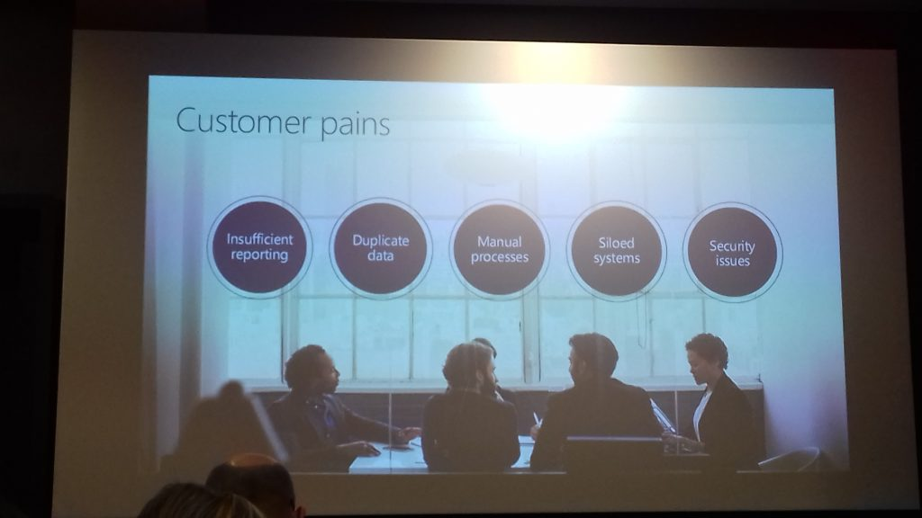 Customer pain points for new ERP