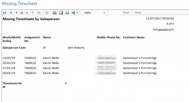 image of our recruitment timesheets software, Agency Time