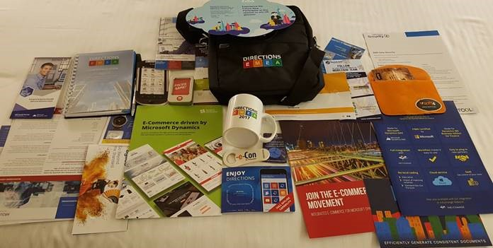 Directions EMEA welcome pack