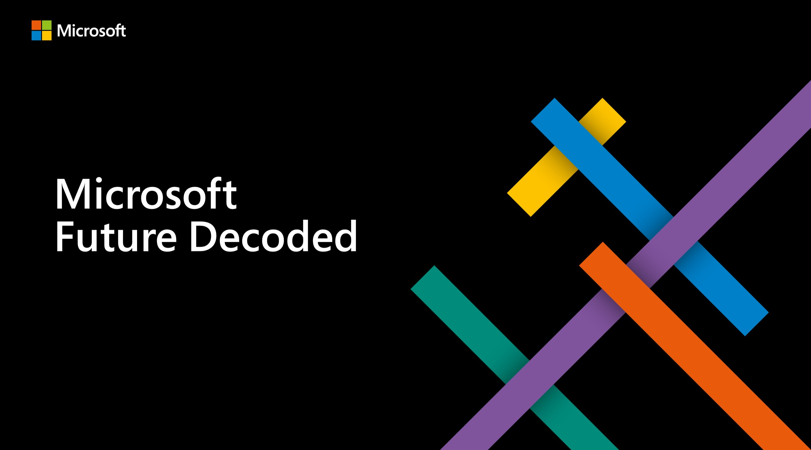 Future Decoded 2019