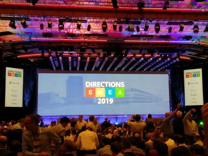 Directions EMEA 2019 full house