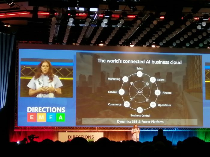 cecilia flombaum - the world's connected AI business cloud