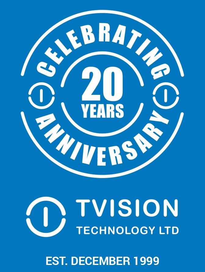 TVision Technology 20 year anniversary