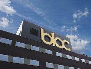 Bloc Hotels Gatwick sign
