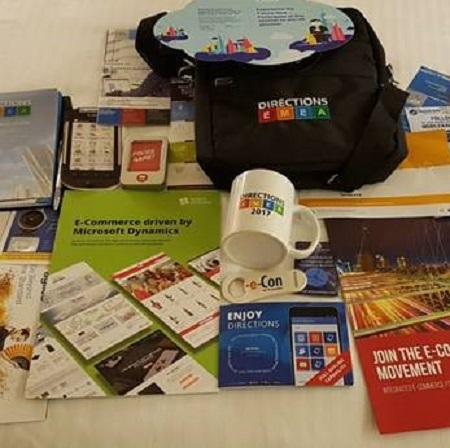 conference freebies